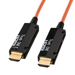 サンワサプライ KM-HD20-FB100 光ファイバHDMIケーブル100M