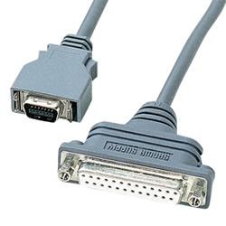 サンワサプライ KRS-HA1502FK RS-232CケーブルNECPC9821ノート対応