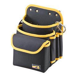 サンワサプライ LAN-TL14 ベルト付き工具袋(腰用)