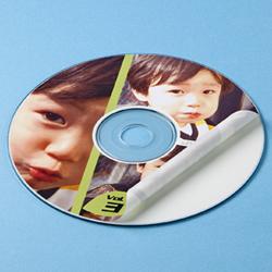 サンワサプライ LB-CDR005N インクジェットフォト光沢DVD/CDラベル