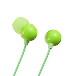 サンワサプライ MM-HP117G ステレオイヤホン(グリーン)