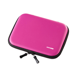 サンワサプライ PDA-EDC31P セミハード電子辞書ケース(ピンク)