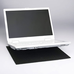 サンワサプライ QL-10 耐震ノートパソコンマット
