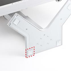 サンワサプライ QL-E85 透明耐震ゴムG-BLOXゲル(20mm角4枚入)