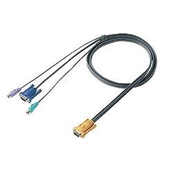 サンワサプライ SW-KLP300 パソコン自動切替器用ケーブル(3.0m)