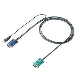 サンワサプライ SW-KLU300 パソコン自動切替器用ケーブル(3.0m)
