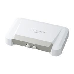 サンワサプライ SW-LAN21 LAN切替器(2回路)