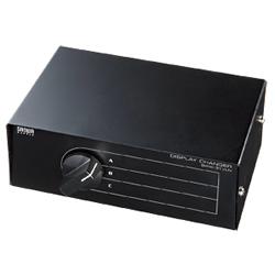 サンワサプライ SWW-31VLN ディスプレイ切替器(3回路)