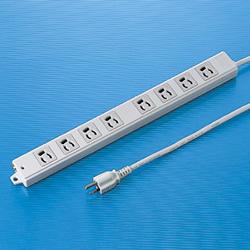 サンワサプライ TAP-K8-3 工事物件タップ(8個口・3m)