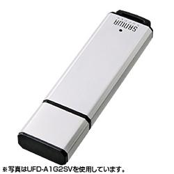 サンワサプライ UFD-A1G2SVK USB2.0メモリ1GB シルバー