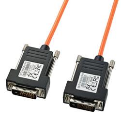サンワサプライ KC-DVI-FB50 DVI光ファイバケーブル(シングルリンク)