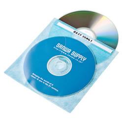 サンワサプライ FCD-FN100MXN DVD・CD不織布ケース(5色ミックス)