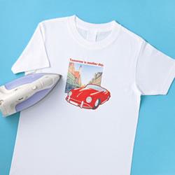 サンワサプライ JP-TPR7 インクジェット用アイロンプリント紙(白布用)