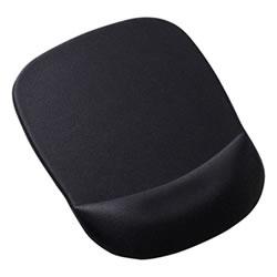 サンワサプライ MPD-MU1NBK 低反発リストレスト付きマウスパッド