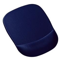 サンワサプライ MPD-MU1NBL 低反発リストレスト付きマウスパッド