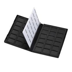 サンワサプライ FC-MMC21SD DVDトールケース型メモリーカード管理ケース(SDカード用・両面収納タイプ)