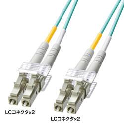 サンワサプライ HKB-OM3LCLC-03L OM3光ファイバケーブル