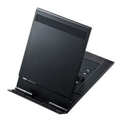 サンワサプライ PDA-STN11BK モバイルタブレットスタンド(ブラック)