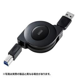 サンワサプライ KU30-M10 USB3.0巻取りケーブル