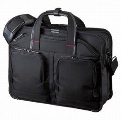 サンワサプライ BAG-EXE8 エグゼクティブビジネスバッグPRO(ダブル)