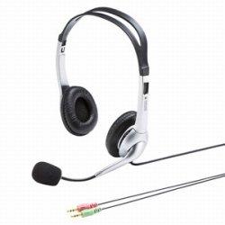 サンワサプライ MM-HS507NCN マルチメディアPCヘッドセット