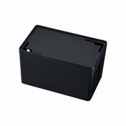 サンワサプライ CB-BOXP1BKN2 ケーブル&タップ収納ボックス