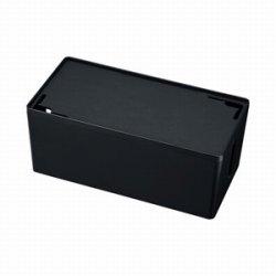 サンワサプライ CB-BOXP2BKN2 ケーブル&タップ収納ボックス
