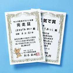 サンワサプライ JP-SHHKTN インクジェット手作り賞状用紙(はがき・縦)