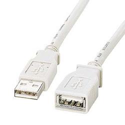 サンワサプライ KB-USB-E2K2 USB延長ケーブル
