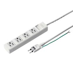 サンワサプライ TAP-N3425MGN 電源タップ