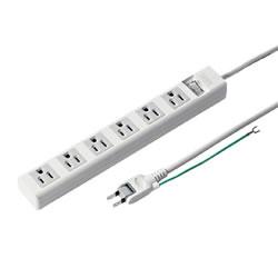 サンワサプライ TAP-N3625SWN 電源タップ