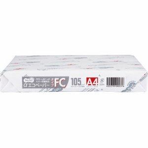 AEFC105-A4 αエコペーパー タイプFC A4 厚口 105G 1セット1500枚 汎用品