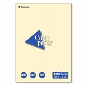 Nagatoya ナ-1502 COLOR PAPER A3 最厚口 レモン