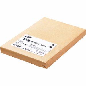 LBPWT60A4T レーザープリンタ用和紙 A4 1冊250枚 汎用品