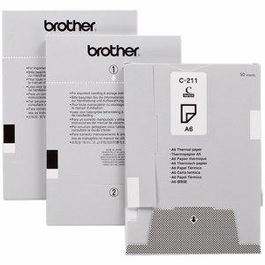 BROTHER C-211 感熱紙 A6サイズ