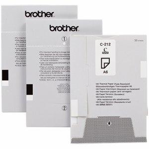 BROTHER C-212 高保存感熱紙 A6サイズ