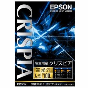 EPSON KL100SCKR 写真用紙クリスピア<高光沢> L判