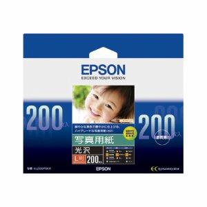 EPSON KL200PSKR 写真用紙<光沢> L判