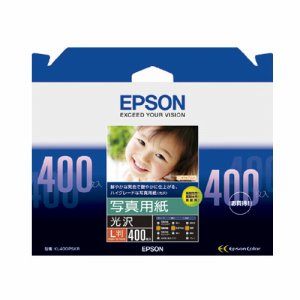 EPSON KL400PSKR 写真用紙<光沢> L判