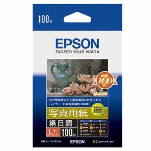 EPSON KL100MSHR 写真用紙<絹目調> L判