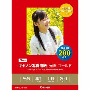 CANON 2310B002 写真用紙・光沢 ゴールド 印画紙タイプ GL-101L200 L判