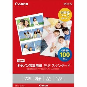 CANON 0863C006 写真用紙・光沢 スタンダード SD-201A4100 A4