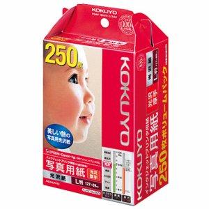 コクヨ KJ-G13L-250N インクジェットプリンタ用紙 写真用紙 光沢紙 厚手 L判