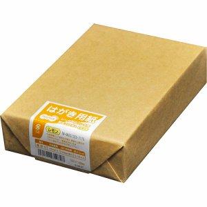 TN-0822 レーザープリンタ用 はがきサイズ用紙 レモン 1冊200枚 汎用品