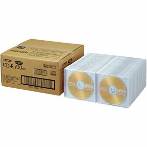 MAXELL CDR700S.1P100 データ用CD-R 700MB 2-48倍速 ゴールドレーベル