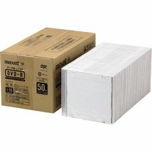 MAXELL DR47WPD.S1P50S A データ用DVD-R 4.7GB 1-16倍速 ホワイトワイドプリンタブル 5mmスリムケース