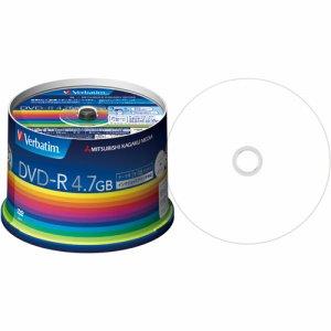 Verbatim DHR47JP50V3 データ用DVD-R 4.7GB 1-16倍速 スピンドルケース
