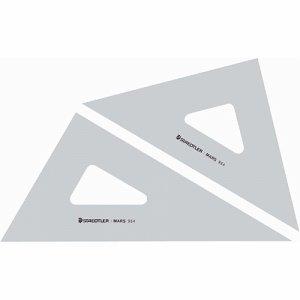 ステッドラー 964 30 マルス 三角定規 30CM 45°・60°ペア