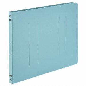 OSFE-A4E-B フラットファイルエコノミー A4ヨコ 背幅18mm ブルー 1セット100冊 汎用品