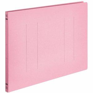 OSFE-B4E-P フラットファイルエコノミー B4ヨコ 背幅18mm ピンク 10冊パック 汎用品